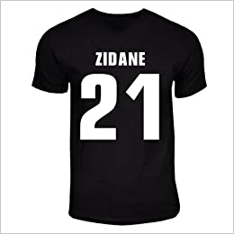 Zinedine Zidane Juventus Hero T Shirt Black Amazon Com Books