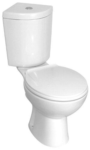 Design Eck Toilette Wc Stand Komplett Set Mit Spulkasten Keramik