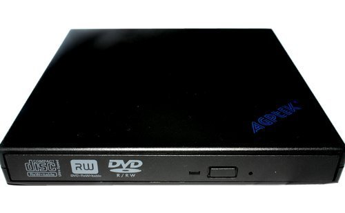 USB2.0 Slim Portable External Rewriteable 24x CD and 8x DVD