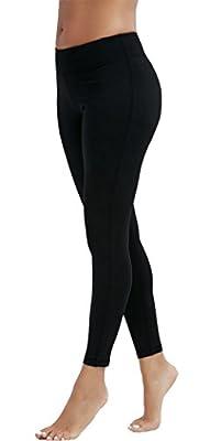 Olacia Womens High Waisted Workout Leggings Pants Black Soft Yoga Pants With Hidden Pocket
