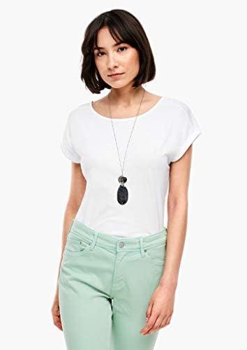 s.Oliver damski T-shirt z wycięciem na plecach: s.Oliver: Odzież