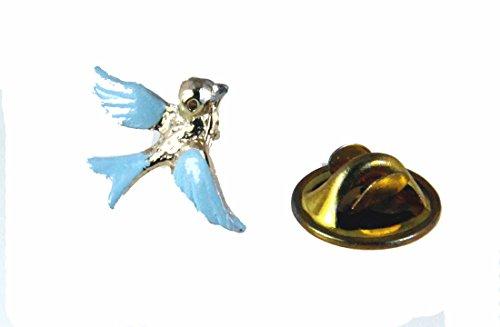 6030344 Bluebird of Happiness Lapel Pin Brooch Tie Tack Blue Bird Cheer Humminbird Celebration of Life