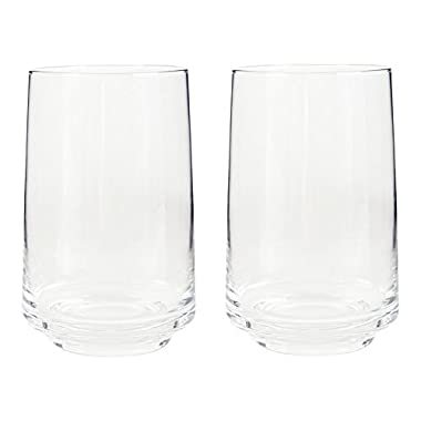 Denby Natural Canvas Tumblers, Clear, Large, Pack of 2
