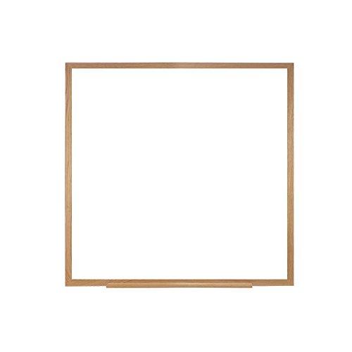 Wood Framed Porcelain Markerboard (Case of 6, 48.5