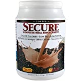 Secure Soy Complete Meal Replacement - Coffee 100 Servings