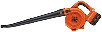 Black and Decker 40-Volt Lithium Ion Cordless Sweeper