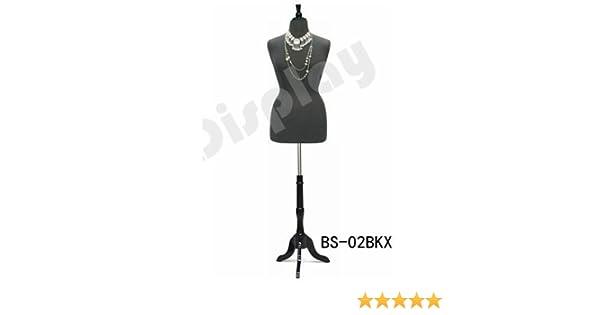 Amazon.com: (JF-F14/16BK+BS-02BKX) Size 14-16 Black Female Dress ...