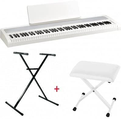 Pack Korg B2 blanco – Piano digital 88 notas + soporte en X + ...