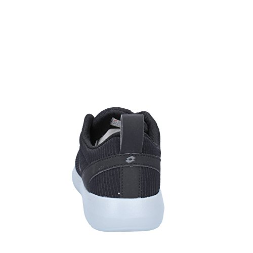 Lotto Men's Superlight Lite Ii Fitness Shoes, Black Black (Blk / Tit Gry 0000)