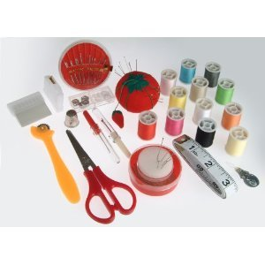 Sewing Kit - Needle,Thread,Pins,Scissors,Project Storage