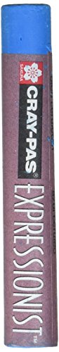 Sakura Cray-Pas Expressionist Non-Toxic Jumbo Oil Pastel, 7/16 X 2-3/4 in, Cerulean Blue, Pack of - Pas Cray Pastel Expressionist