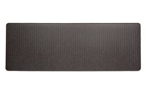 Imprint Cumulus9 Kitchen Mat Chevron Series Island Area Runner 26 in. x 72 in. x 5/8 in. Espresso