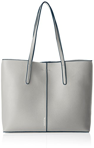comma Come With Me Shopper Lhz - Bolsa Mujer Gris (Light Grey 101)