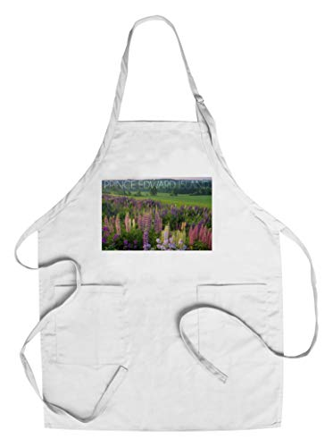 (Prince Edward Island - Field of Flowers (Cotton/Polyester Chef's Apron))