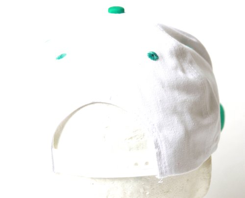 Vancouver Grizzlies Throwback White Teal Snapback Hat + GT Sweat Wristband