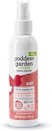 Goddess Garden Sunscreen Sensitive Cruelty Free