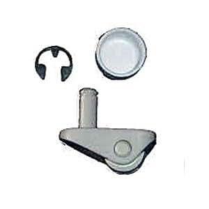 Zodiac R0379100 White Gunite Swivel Wheel Replacement Kit For Zodiac Jandy Automatic Pool Cleaner