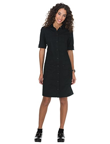 Koi Classics Women's Alexandra Scrub Dress X-Small Black