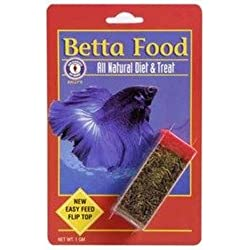 San Francisco Bay Brand Betta Food All Natural Fish Food and Treat, 1 Gram Container
