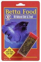 Bloodworms Fish Food (San Francisco Bay Brand Betta Food All Natural Fish Food and Treat, 1 Gram Container)