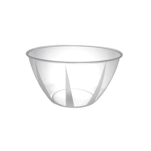 Party Essentials N244281-24 Small Serving Bowl, 24-Ounce Capacity, Clear (Case of 24) (Case Serving Bowl)