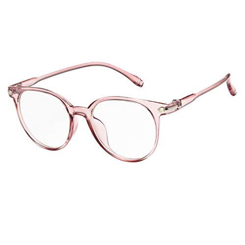 OutTop(TM) Anti-Radiation Eyeglasses Spectacle Optical Frame Glasses Computer Clear Lens for Women Men Teen (Pink)