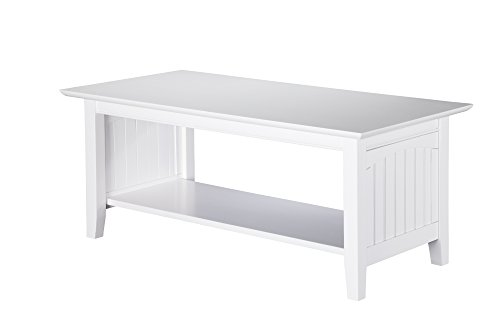 Cheap Atlantic Furniture Nantucket Coffee Table White