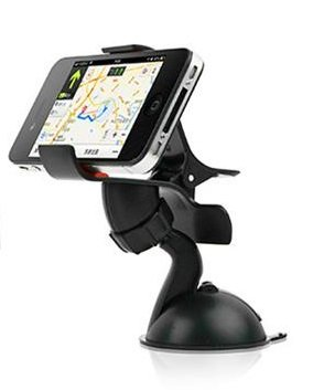 Manos Libres 360 Degree Rotación de Soporte de Coche para Mejor Soporte Seguro iPhone 6,