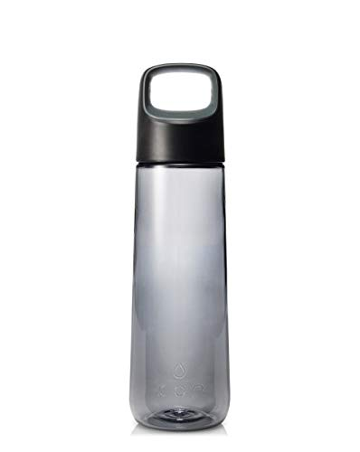 KOR Aura BPA Free Water Bottle, 750ml, Birch Grey (Kora Collection)