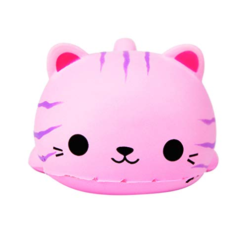 Dinlong Cute Beauty Rabbit Slow Rising Scented Novelty Reliever Stress Toys for Kids -