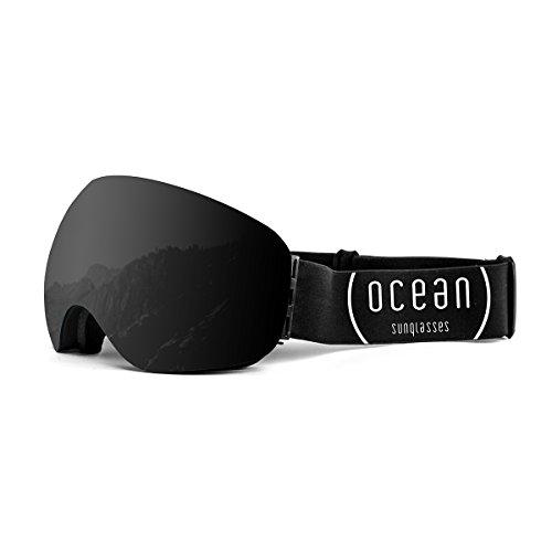 Ocean Sunglasses YH4501.0 Lunette de Soleil Mixte Adulte, Noir