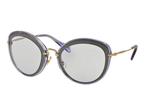 Miu Miu MU50RS UFA3F2 Lilac Argil MU50RS Oval - Miu Miu Sunglasses