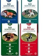 K9 Advantix for Dogs Blue, Over 55 lbs, 4 Months