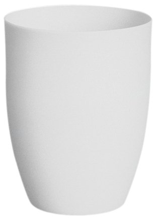 CoorsTek 65501 High-Alumina High Form Crucible, 10mL Capacity, 29mm
