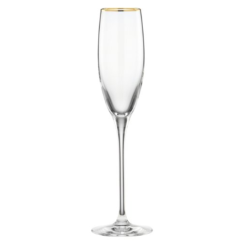 Lenox 837930 Timeless Gold GW Glasses, Clear