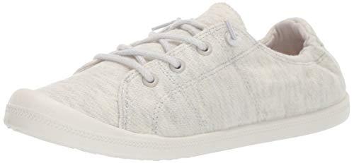 Madden Girl Women's Bailey-H Sneaker, Off White/Multi, 9 M US - Off Madden Girl