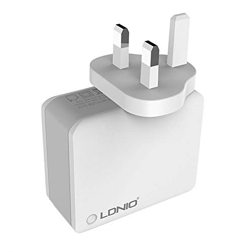 USB Plug Charger,Universal USB Wall Charger Fast Charge Adapter Travel Charger for LDNIO Adenium A4403 5V/4.4A 22W 4…