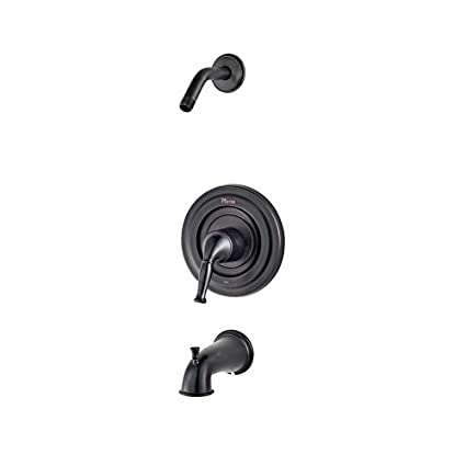 Pfister Universal Tub And Shower Single Control Trim Kit In Tuscan Bronze  Finish