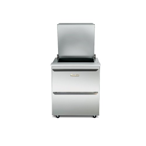 Traulsen UST7218-DD-SB Dealer's Choice Compact Two Section Prep Table 72