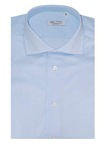 Garuffo Camicia Camicia Azzurra Camicia Quadretti Azzurra Garuffo Garuffo Quadretti 5pqwyxfR1W