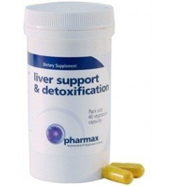 Pharmax Liver Support & désintoxication - 60 Vegetarian Capsules