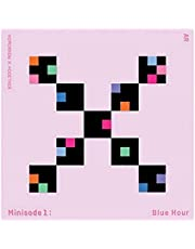 TOMORROW X TOGETHER TXT Minisode1 : Blue Hour Album (AR Version) CD+Photobook+Paper Sticker+Lyric Paper+Behind Book+Photocard+Postcard+(Extra TXT 4 Photocards)