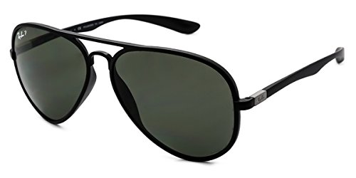 3b0cf12c8b Ray-Ban Sunglasses RB4180 Aviator Liteforce Polarized 601S 9A   Amazon.co.uk  Clothing