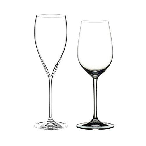 Riedel Vinum XL 4 Piece Riesling Grand Cru and Champagne Glass Set