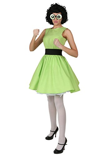 Buttercup Powerpuff Girl Costume X-Small]()