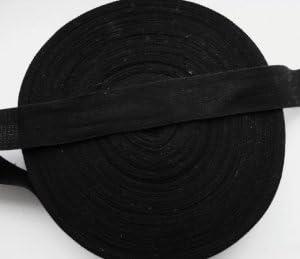 Cinta de algodón 20 mm 1,91 cm negro Twill patrones de costura ...