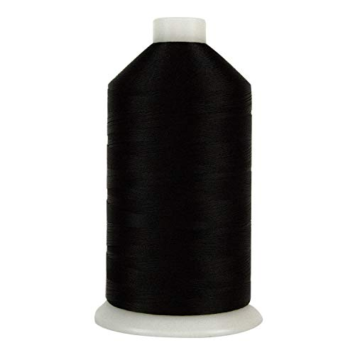 Superior Threads - Bonded Industrial Nylon Thread for Upholstery and Automotive Sewing, 69-001 Black