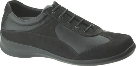 Aetrex Womens Essence Active Oxford Black
