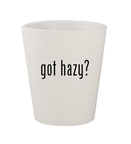 got hazy? - Ceramic White 1.5oz Shot Glass