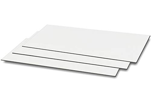 Magnetic Vent Covers (3-Pack) 8 x 15.5 inches (60 mil Sheet) - for RV, Home HVAC, AC and Furnace Vents (Works on Floor, Wall, and Flat Ceiling Vents)